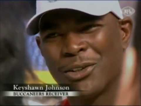 Bucs Warren Sapp does not respect Keyshawn Johnson