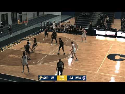 2019-20 Concordia-St. Paul Men's Basketball Vs Winona State, 2-21-2020