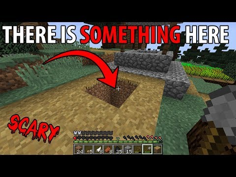 Something lives under this Village in Minecraft... (Minecraft Orphanage Seed)