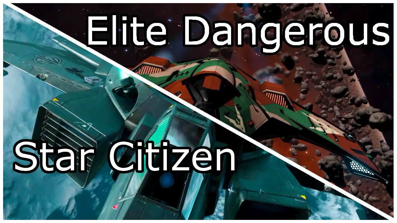 Star Citizen vs Elite Dangerous : Graphics Comparison