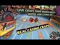 Craps Shooter is Hot, No 7 out! - YouTube