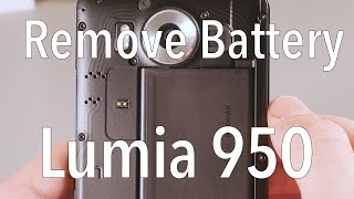 Microsoft Lumia 950 - How To Remove The Battery