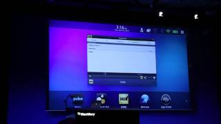 Android apps on PlayBook at BlackBerry DevCon 2011