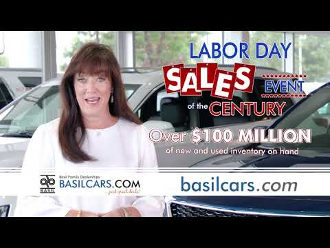 Basil Family Dealerships Labor Day Sales Event!