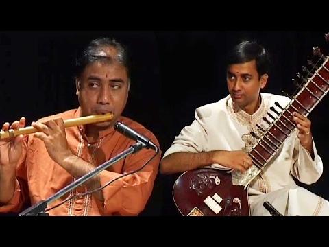 Carnatic Fusion Music - Sitar   Tabla   Flute - Yakshas - Indian Classical Instrumental