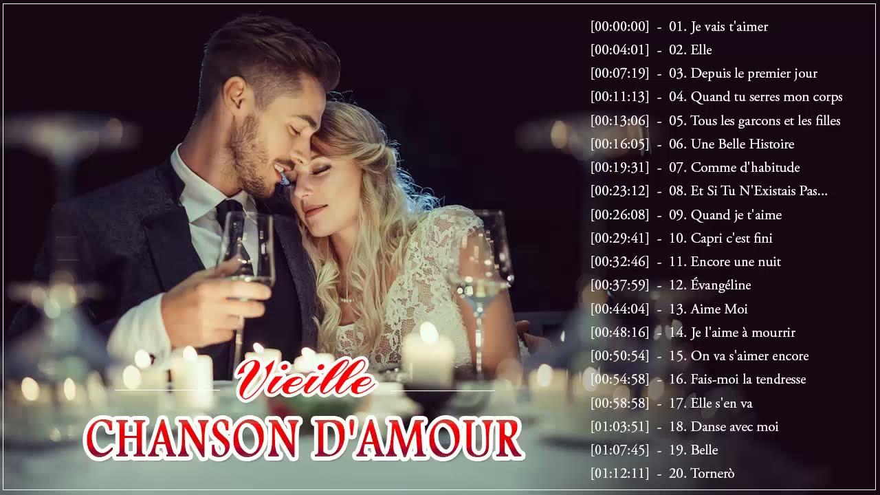 Les Vieille Chanson D'amour ❤️ Meilleures Vieilles Chansons D'amour Française