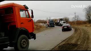 Разбитые при строительстве «Обхода Хабаровска» дороги восстановят только через два года