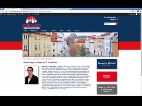 Chicago Czech Center Training Video 1 of 3