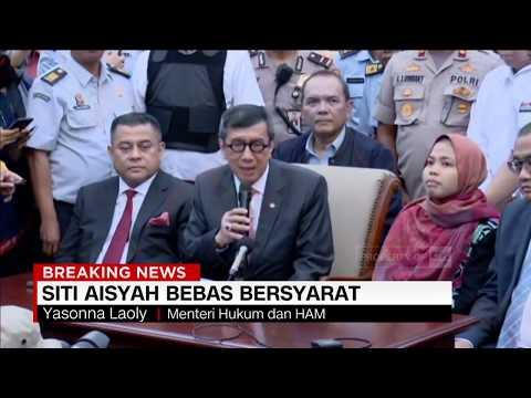 Ucapan Terima Kasih Siti Aisyah Pasca Putusan Bebas ; Siti Aisyah Tiba Di Tanah Air
