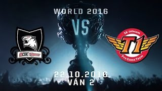22102016 highlights ban ket skt vs rox tran 3cktg2016