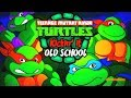 Teenage Mutant Ninja Turtles Kickin' it Old School - Funny Cartoon Games TMNT HD