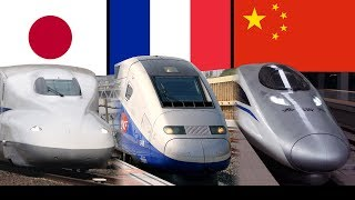 Top 11 Countries with Fastest Operating Speed Trains thumbnail