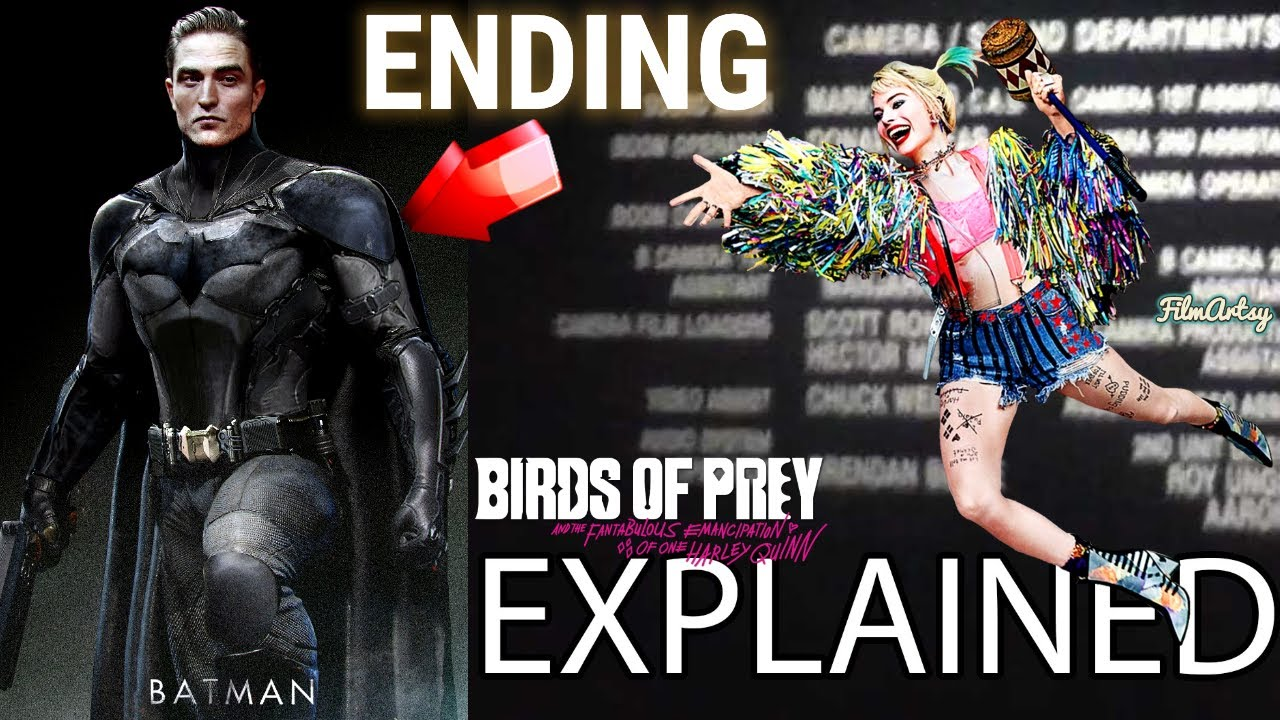 Birds Of Prey Ending Explained Post Credits Scene Harley Quinn Margot Robbie 2020 Youtube