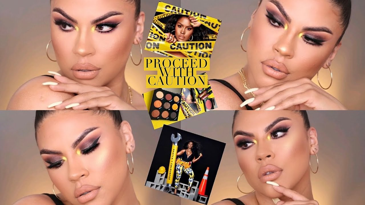 Makeupshayla X Colourpop Proceed With Caution Collection