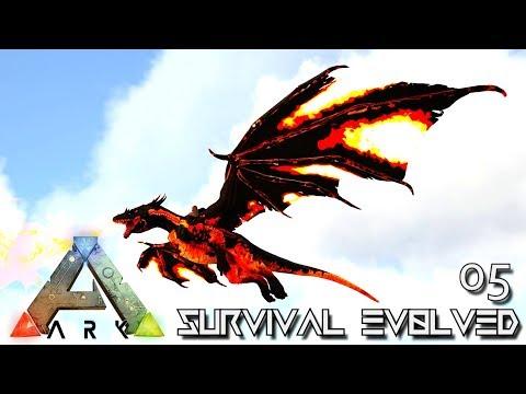 ARK: SURVIVAL EVOLVED - EPIC FIRE DRAKE TAMING !!! E05 (MOD ANNUNAKI PROMETHEUS RAGNAROK)