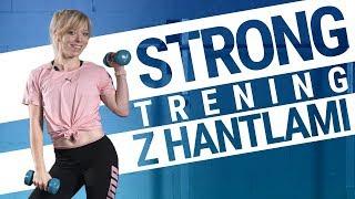 STRONG - trening z hantlami na całe ciało | Trening z hantlami w domu | #FITJESIEŃ