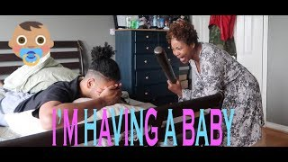 I'M HAVING A BABY (PRANK ON MY MOM)!