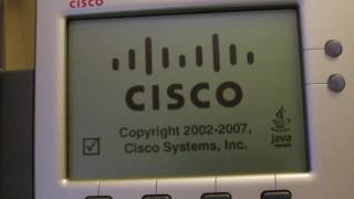 How to start firmware download mode on your Cisco 7941