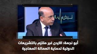 أبو نجمة: الاردن غير ملتزم بالتشريعات الدولية لحماية العمالة المهاجرة