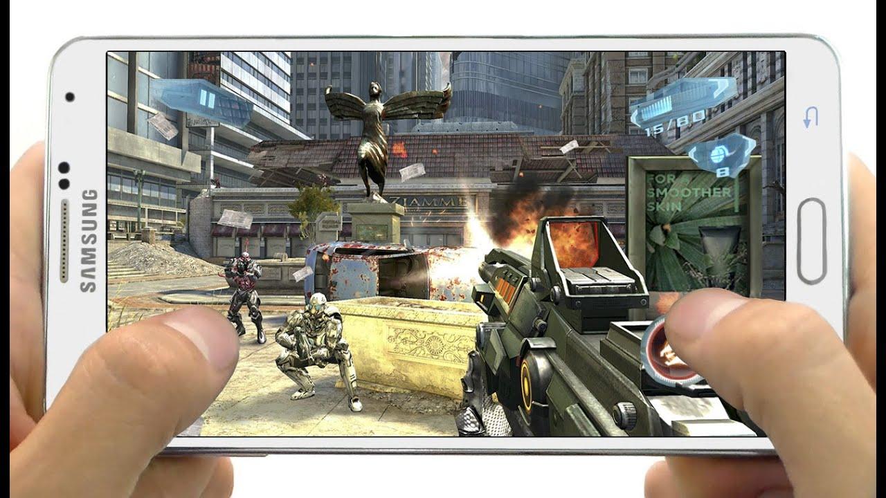 Descarga Los 6 Impresionantes Juegos Para Celulares Android 2015