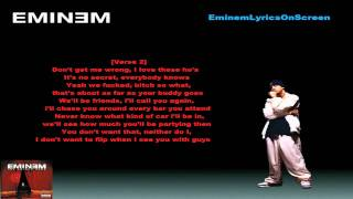 Eminem - Superman - Lyrics On Screen