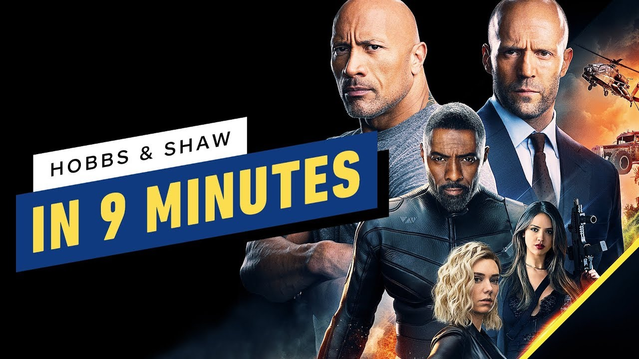 The Fast And The Furious Presents Hobbs And Shaw Their Story So Far Youtube