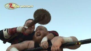 CZW Tournament of Death 16: Father Matthew Tremont vs. Mad Man Pondo (CZWstudios.com)