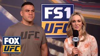 Tai Tuivasa talks after making weight | INTERVIEW | UFC FIGHT NIGHT