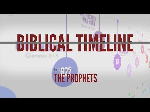 7. The Prophets | Biblical Timeline