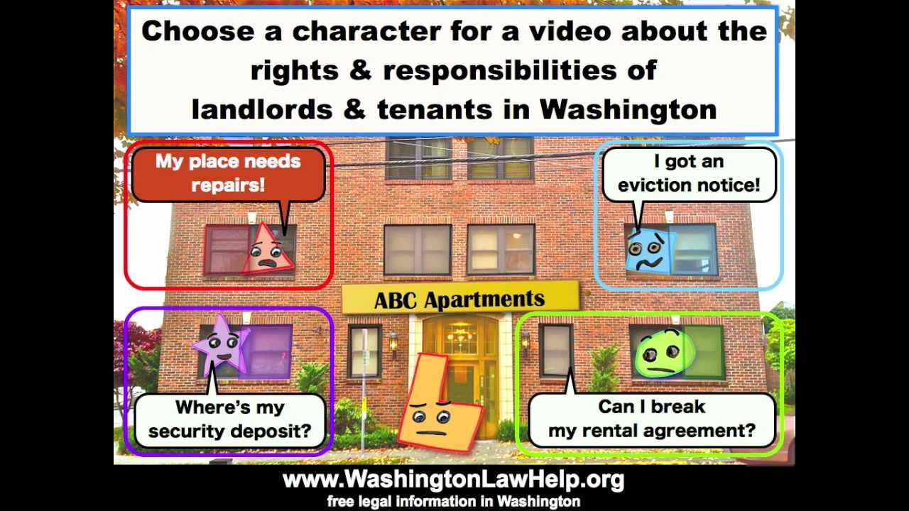 Tenants: If You Need Repairs | WashingtonLawHelp org | Free