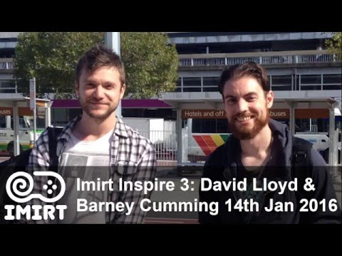 Imirt Inspire 3: David Lloyd & Barney Cumming