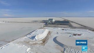 Bolivia: el litio, el 'oro blanco' que se encuentra debajo del Salar de Uyuni