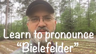 "How to pronounce ""Bielefelder"""