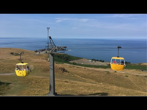 Llandudno Great Orme Cable Car & Tramway Vlog July 2018