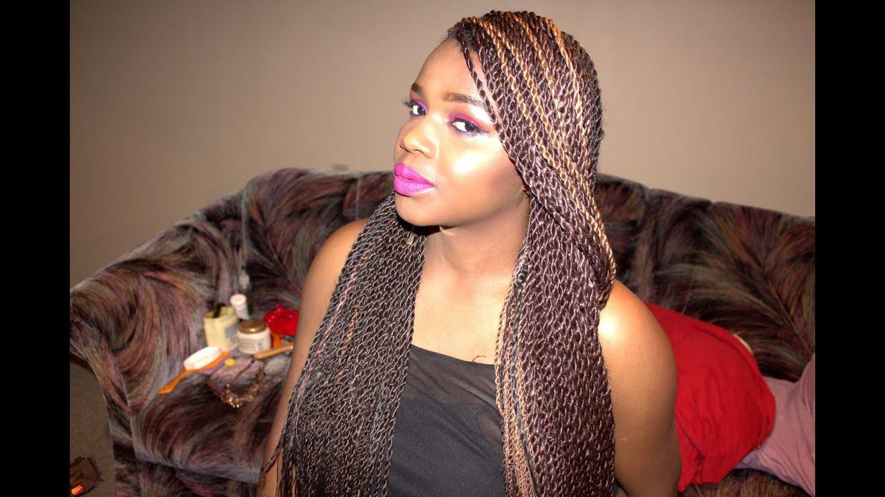 DIY NEAT Rope Twist Senegal Twist Twist Braids DanTemmy