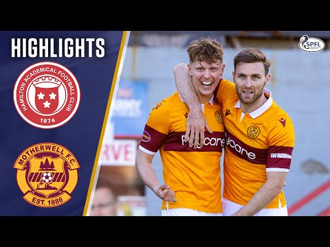 Hamilton Motherwell Goals And Highlights