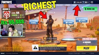 How EXPENSIVE is My Account? (The RICHEST FORTNITE ACCOUNT)