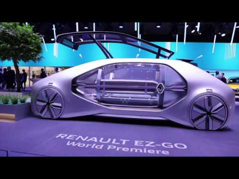2018 Renault EZ-GO at Geneva Motor Show 2018