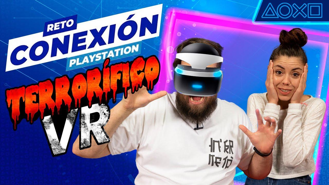 ¡MIEDO en PlayStation VR! El Reto Conexión con Rosdri y Albi HM | PlayStation España