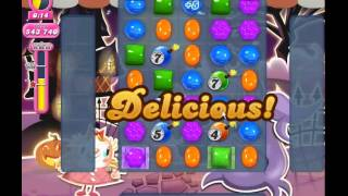 Candy Crush Saga level 725 (3 star, No boosters)