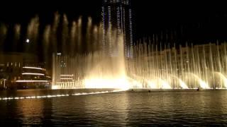Dubai Fountains - Con Te Partiro