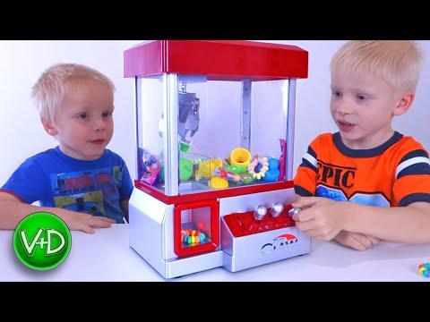 Игровые Автоматы С Игрушками Для Детей Фото