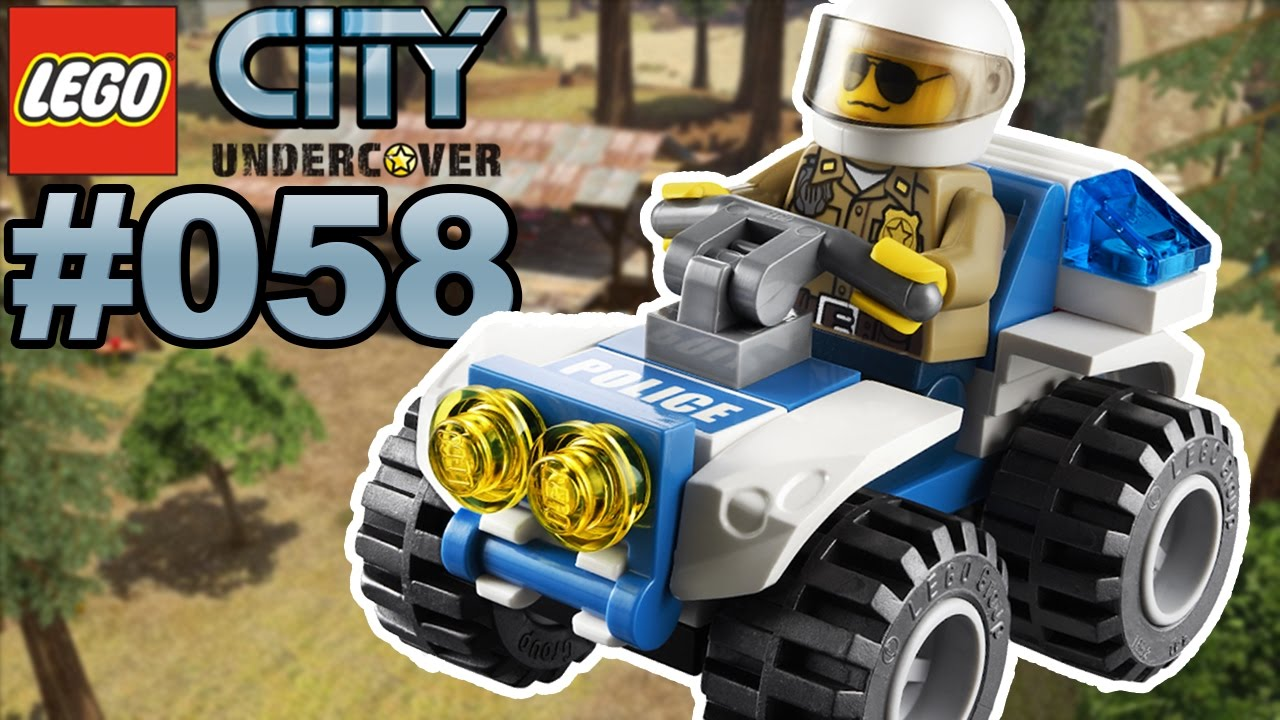 Lego City Undercover 058 Rennen Mit Dem Polizei Quad Lets Play