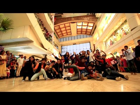 Flashmob 2k15 by GMRIT students at CMR central