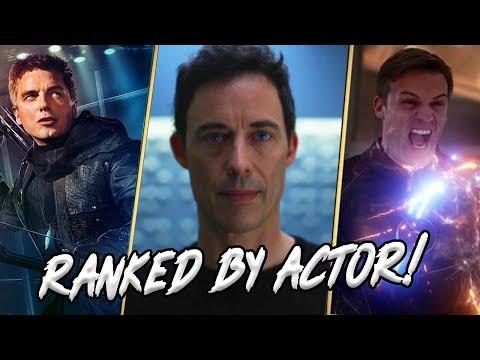 Arrowverse Main Villains Actors RANKED!