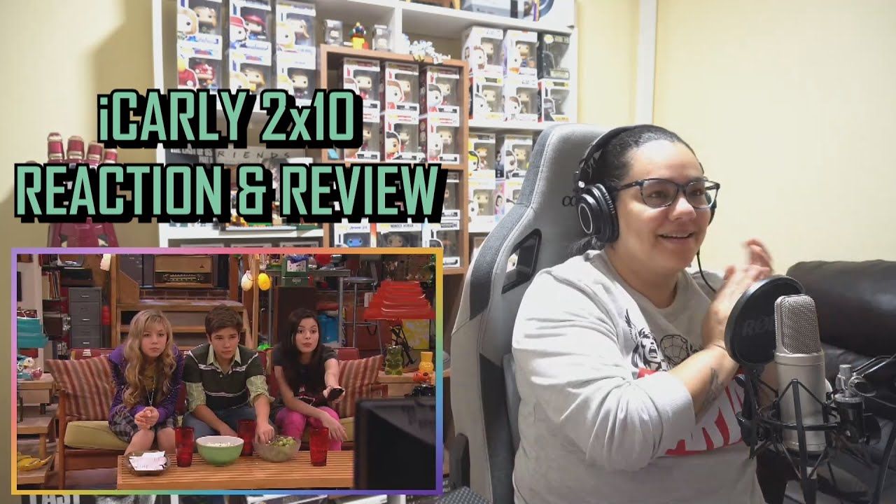 """Download ICarly 2x10 REACTION & REVIEW """"iRocked the Vote"""" S02E10   JuliDG"""