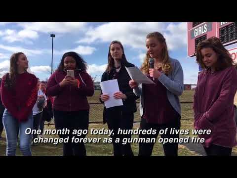 National school walkout: Lehigh Valley students post about protest (VIDEO)