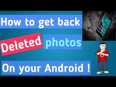 How To Recover Deleted Photos, Videos And Files On Android Phones For Free || No Root || [ English]