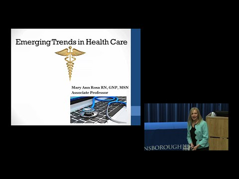 """Emerging Trends in Health Care"""
