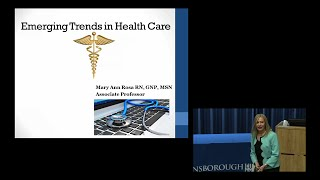 """""""Emerging Trends in Health Care"""""""